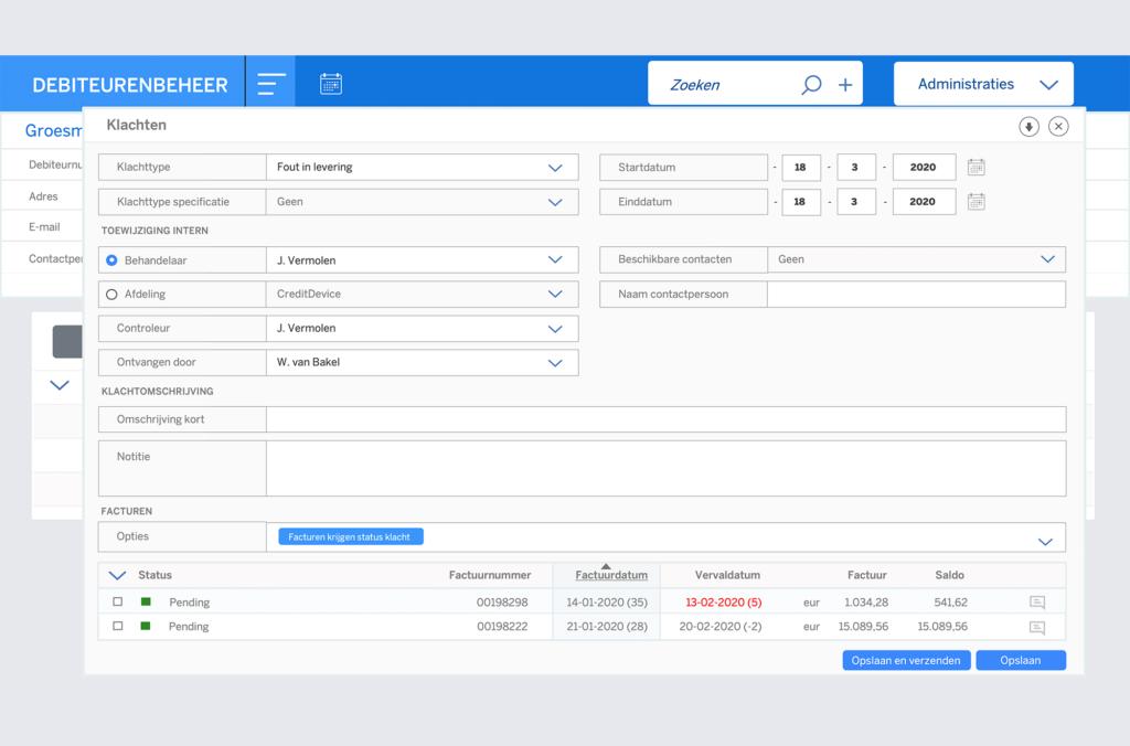 Credit management software_klachten