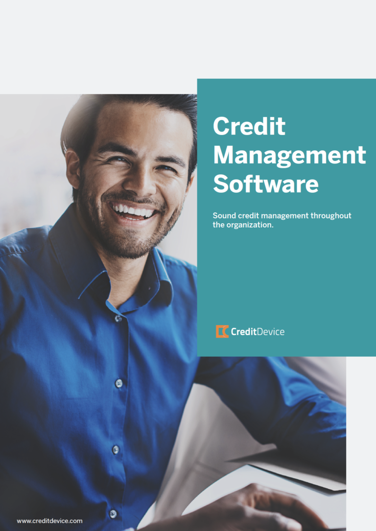 Brochure credit management software