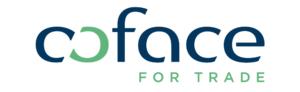 Coface logo with signature RGB white